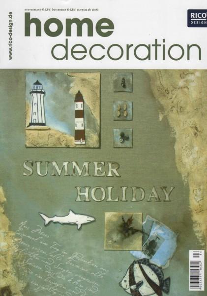 RICO DESIGN home decoration No. 44 - Summer Holiday