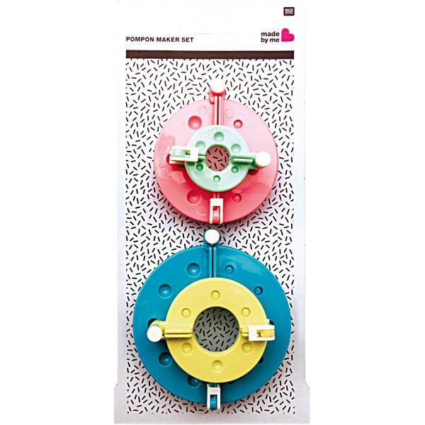 Pompon Maker, 4-tlg. Set
