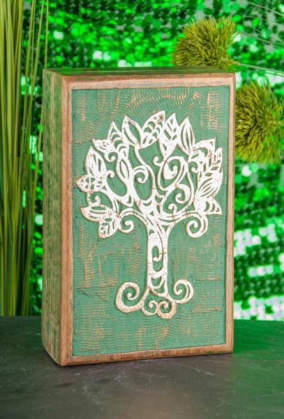 Holzbox Keltischer Lebensbaum