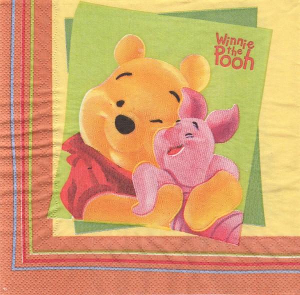 """Serviette - Kinder """"Winnie Pooh"""""""