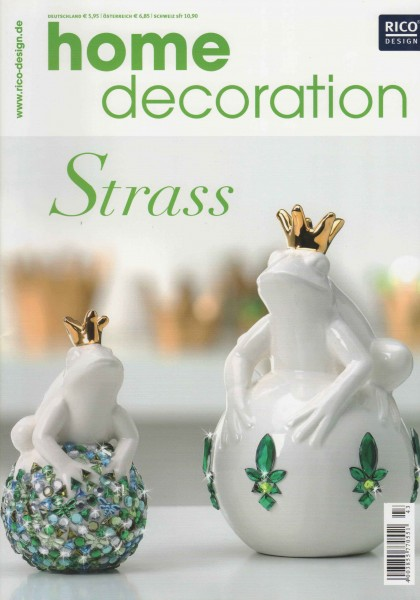 RICO DESIGN home decoration No. 43 - Strass