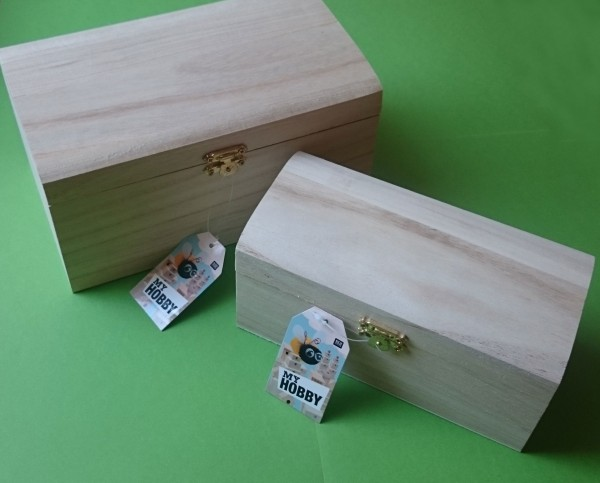 Holz-Schatullenset 2-tlg.