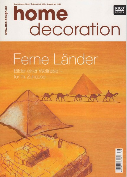 RICO DESIGN home decoration No. 49 - Ferne Länder