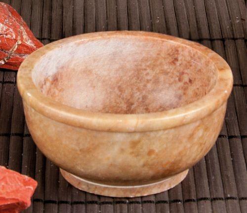 Schale aus Speckstein 7,5 cm, 2er Packung