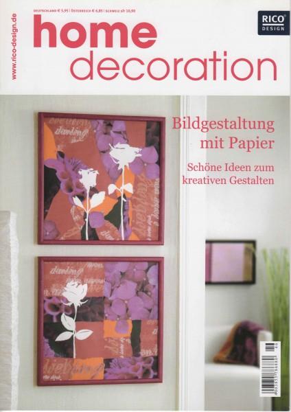 RICO DESIGN home decoration No. 46 - Bildgestaltung mit Papier