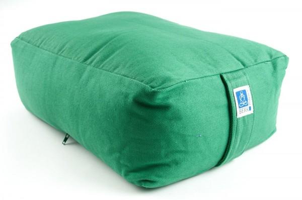Quader Kissen mit Buchweizen, grün