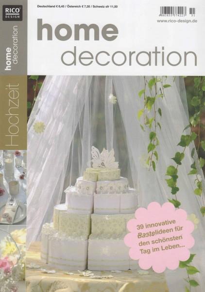 RICO DESIGN home decoration No. 51 - Hochzeit