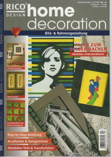RICO DESIGN home decoration No. 24 - Bild- und Rahmengestaltung