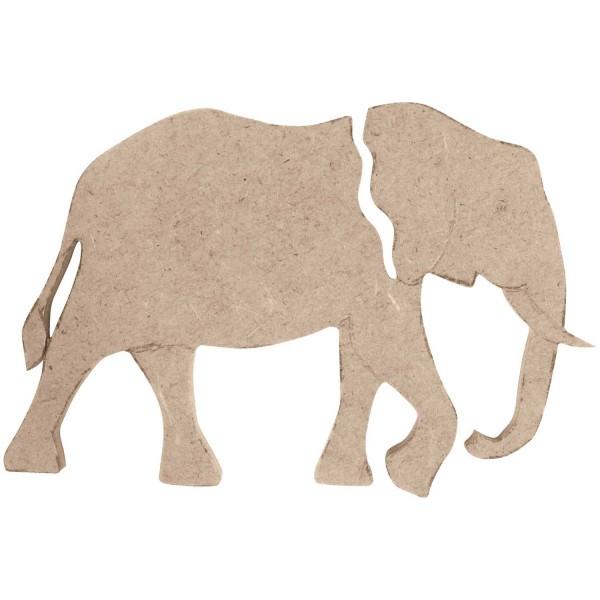 RICO DESIGN Holzdekor Elefant