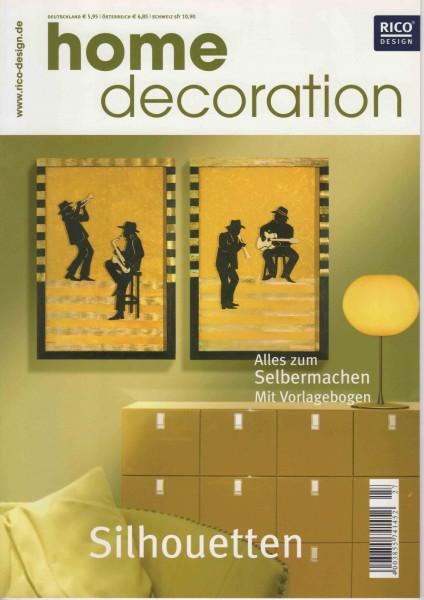RICO DESIGN home decoration No. 27 - Silhoutten