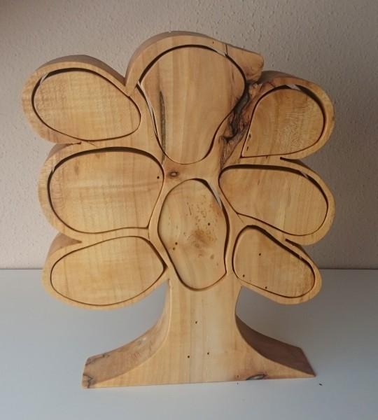Schatulle in Baumform aus Ahorn von ZAUS