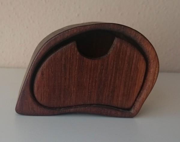 Holzkästchen aus Nussbaum von ZAUS, klein