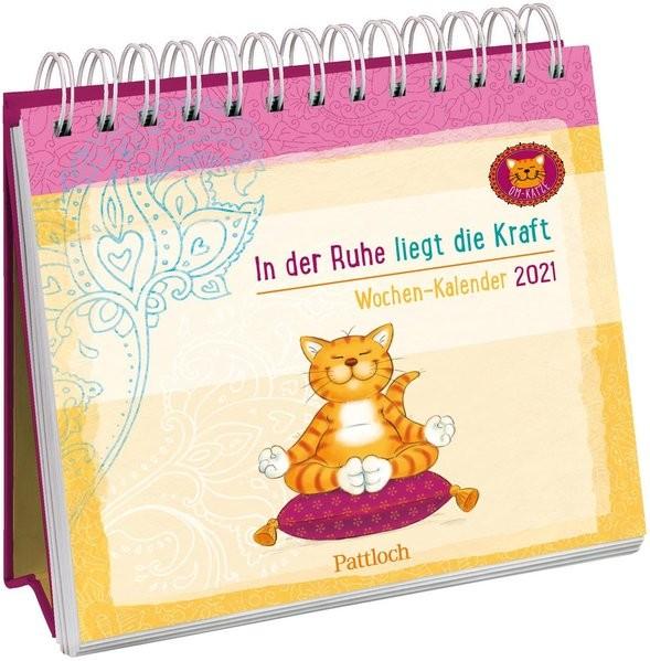 Om-Katze Wochen-Kalender 2021