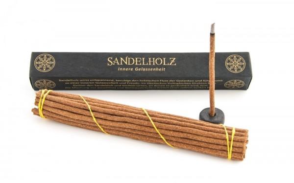 Räucherstäbchen Sandelholz mit Halter