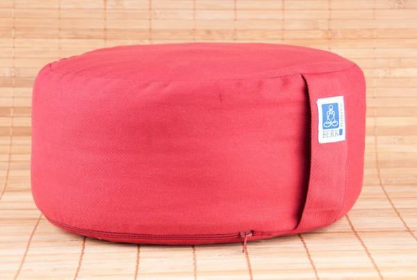 Zen Kissen mit Kapok, rot
