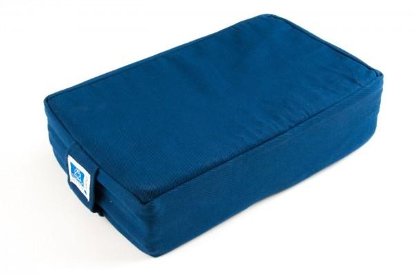 Sitz mit Kokosnuss-Faser, dunkelblau