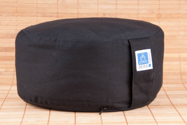 Zen Kissen mit Kapok, schwarz