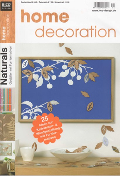 RICO DESIGN home decoration No. 56 - Naturals