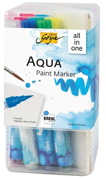 Solo Goya Aqua Paint Marker - 21 tlg. All In One-Set