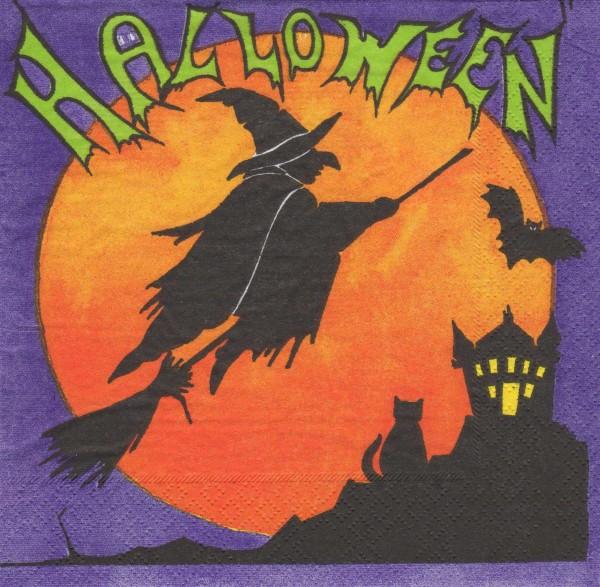 """Serviette - Halloween """"Hexe"""""""